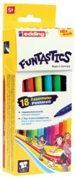 Edding Viltstift e-15 Funtastics - 18 stiften in kartonnen etui