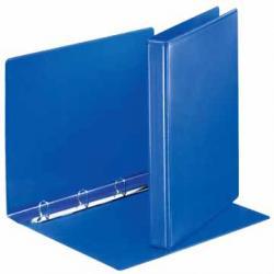 Esselte personaliseerbare ringmap blauw met 4 D-ringen 20mm - Rug van 3,5 cm
