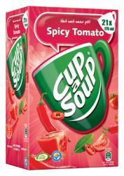 Unox soep spicy tomato - Doos met 21 zakjes