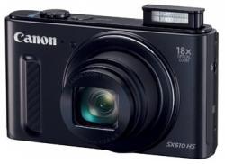 Canon fototoestel PowerShot SX610 HS zwart