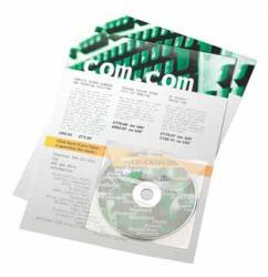 3L CD/DVD zelfklevende pockets met flap - doos van 100 stuks
