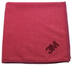 3M microvezeldoek rood 38 x 21 cm