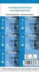 Bpost postzegel tarief 1 Europa zelfklevend