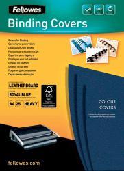 Fellowes omslagen A4 250 micron blauw - Pak van 25 stuks