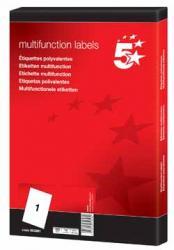 5Star witte etiketten 99x67mm - Doos van 800 stuks