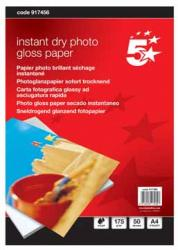 5Star glanzend inkjet fotopapier A4 175g - Pak van 50 vel
