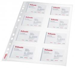 Leitz showtas A4 voor visitekaartjes uit PP 11-gaats perforatie - Pak van 10 stu