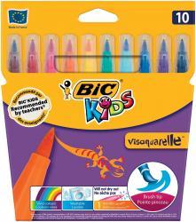 Bic Kids penseelstift Visaquarelle - 10 stuks in kartonnen etui