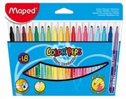 Maped Viltstift Color'Peps - 18 stiften in kartonnen etui