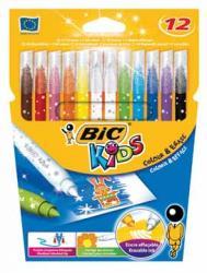 Bic Kids viltstift Colour & Erase - 10 stiften en 2 uitwisstiften