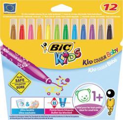 Bic Kids Viltstift Baby - 12 stiften in kartonnen etui