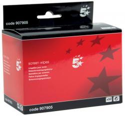5Star anti-statische schermreinigingsdoekjes - Pak van 50 doekjes