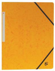 5 Star elastomap 3 kleppen geel - pak van 10 stuks