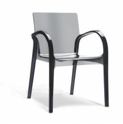 Dejavu designstoel black