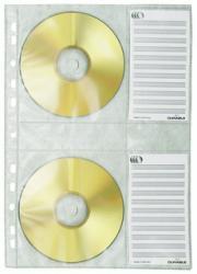Durable ringbandhoes voor CD/DVD - CD-hoezen A4