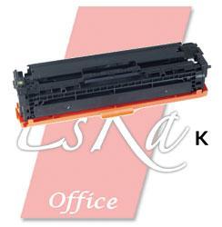 EsKa Office compatibele toner 'HP CB540A - 125A' zwart