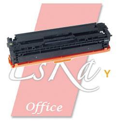 EsKa Office compatibele toner 'HP CB542A - 125A' geel
