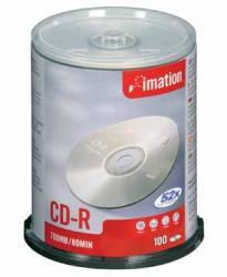 Imation CD-R recordable 700MB/80min. - spindle van 100 stuks