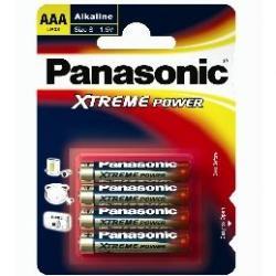 Panasonic Super Alkaline batterijen 4 x LR03 AAA - Blister van 4 stuks