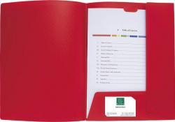 Exacompta presentatiemap A4 soepel PP Krea Cover rood