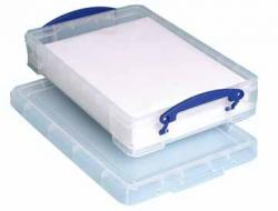 Really Useful Boxes® transparante opbergdoos 4 liter