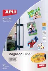 Apli magnetisch papier A4 - Pak van 8 vel