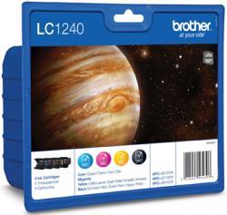 Brother inktpatronen voordeelset LC1240