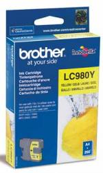 Brother inktcartridge LC-980Y geel origineel