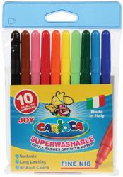 Carioca Viltstift Joy Superwashable - 10 stiften in plastic etui