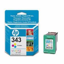 Hewlett Packard C8766EE / HP 343 inktcartridge zwart
