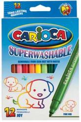 Carioca Viltstift Joy Superwashable - 12 stiften in kartonnen etui