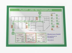 Durable 4873 duraframe / folderhouder A3 groen