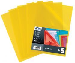 Elba L-map Shine geel 120micr. - Pak van 10 stuks