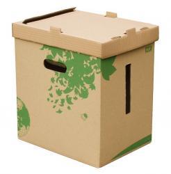Kartonnen papiermand 100% Ecologisch Fast Nature Line