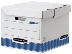 Fellowes Flip Top Kubus Bankers Box wit/blauw