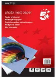 5Star mat inkjet fotopapier A4 165g - Pak van 100 vel