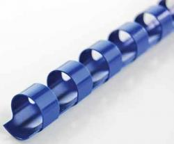 GBC 21-rings ronde plastic bindruggen CombBind blauw