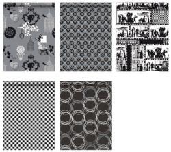 Hoomark geschenkpapier Black & white