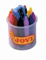 Jovi waskrijt 15 waskrijtjes en 1 slijper