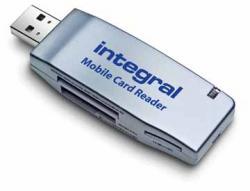 Integral USB geheugenkaartlezer Mobile