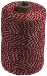 Katoentouw rood-wit klos van 200g (+/- 45m)