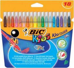 18x BIC kleurstiften Kid Couleur