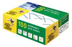 Loeff's quickbinder PP/PE - Doos van 100 stuks