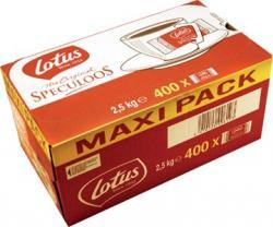 Lotus speculoos koekjes - Doos van 400 individueel verpakte stuks