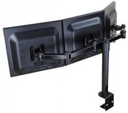 Newstar 3-dubbele monitorarm FPMA-D960D3 zwart