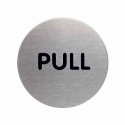 "Durable pictogram ""PULL"""