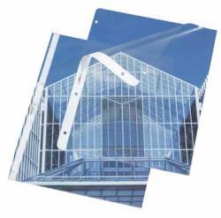 Rexel geperforeerde showtas gekorreld PVC - 95 micron
