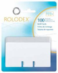 Rolodex navulling kaarten 57x102 mm