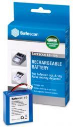 Safescan oplaadbare batterij voor valsgelddetector Safescan 135, 145 155 en 165