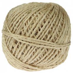 Sisalkoord touw uit 2 draden - Bol van 200 g (+/- 45m)